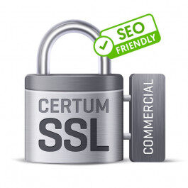 Certyfikat CERTUM Commercial SSL – 1 rok