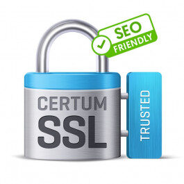 Certyfikat CERTUM Trusted SSL – 1 rok