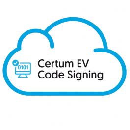 EV Code Signing w chmurze