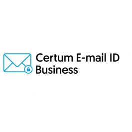 Certum E-mail ID Business (S/MIME) – 1 rok