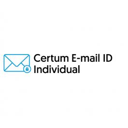 Certum E-mail ID Individual (S/MIME) – 1 rok