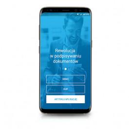 SimplySign – mobilny podpis elektroniczny – 1 rok